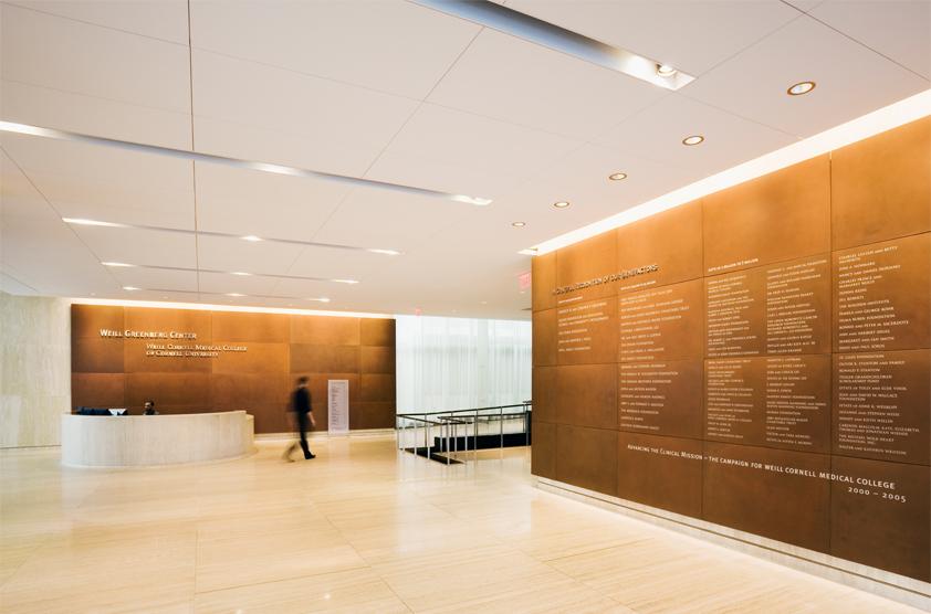 Cornell Hospital Nyc >> Weill Greenberg Center, Weill Cornell Medical College