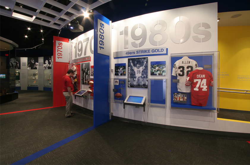 Oh Law Firm >> Pro Football Hall of Fame, Lamar Hunt Super Bowl Gallery | SBLD Studio